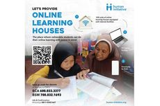 Human Initiative Presents Online Learning House to Help Underprivileged Children