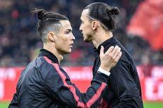 Seperti Tak Mau Kalah, Ronaldo Ikuti Jejak Ibrahimovic Usai
