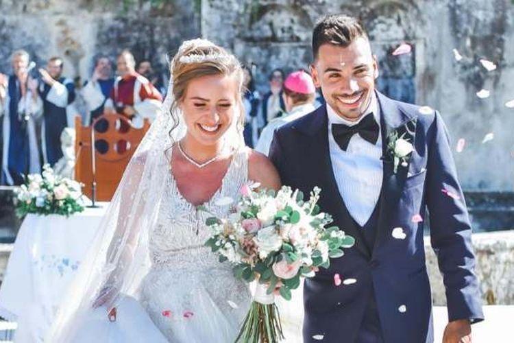 Miguel Oliveira dan istri