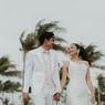 Gelar Resepsi Pernikahan di Pinggir Pantai, Adipati Dolken dan Canti Tachril Masuk Angin