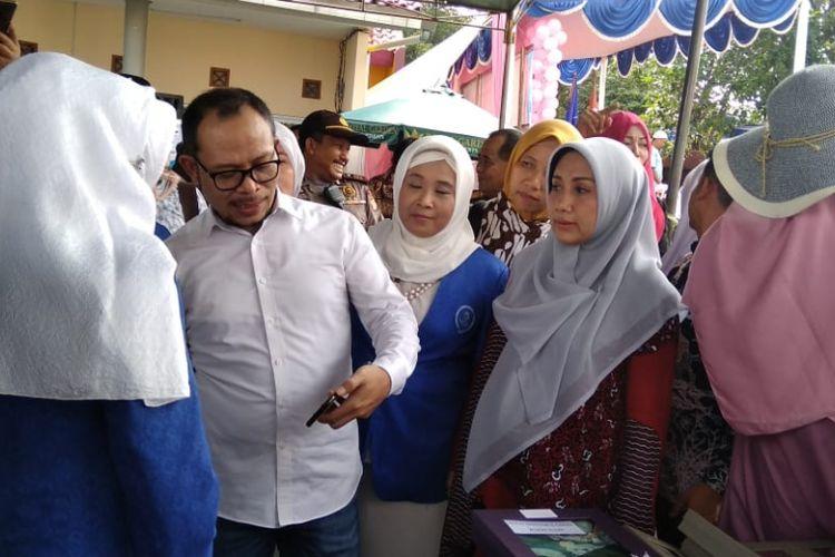 Menteri Ketenagakerjaan Muhammad Hanif Dhakiri, di Rawa Denok, Pancoran Mas, Depok, Jumat (18/1/2019).