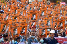 ASEAN Upayakan Dialog Junta Militer dan Aung San Suu Kyi, Massa Sambut dengan Kritikan