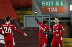 Babak I Liverpool Vs West Brom, The Reds Unggul 82 Persen Penguasaan Bola