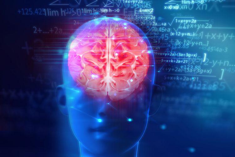 Ilustrasi otak, pendarahan otak