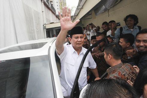 Prabowo Sebut Akan Berikan Tongkat Kepemimpinan ke Generasi Muda