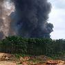Ada Semburan Gas, Kebakaran 2 Sumur Minyak Ilegal di Muba Sulit Padam