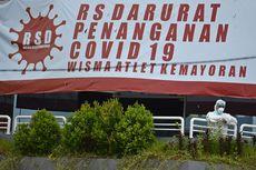 Update 8 April, Pasien di RS Darurat Covid-19 Wisma Atlet 527 Orang