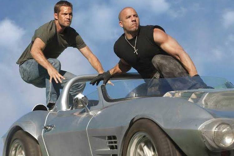 Aksi Vin Diesel dan Paul Walker di Fast and Furious