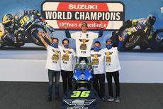 Ketika Motor Sang Juara Dunia MotoGP Diangkut ke Dalam Lift...