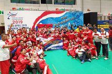 Indonesia Menangi Lima Medali dari Ajang Karate Internasional Tingkat Sekolah Dasar
