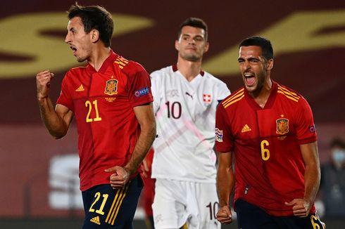 Spanyol Vs Swiss, Blunder Kiper Bantu Tim Matador Menang