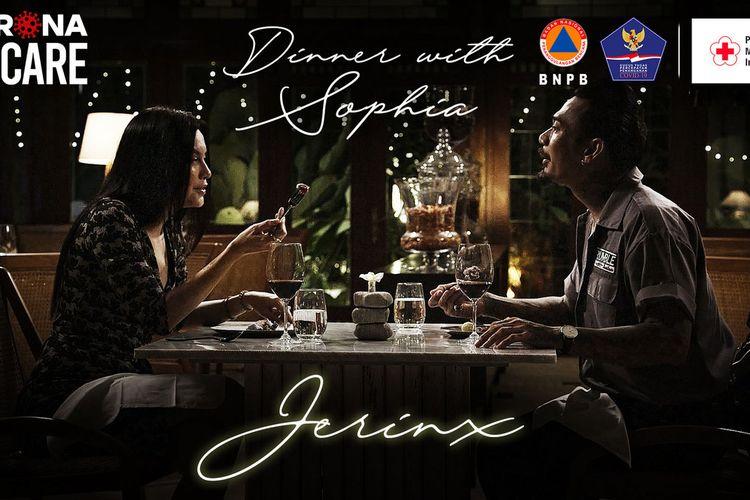 Program Dinner With Sophia Latjuba dengan bintang tamu Jerinx SID. Program ini ditayangkan di Mola TV.