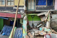 2 Rumah Ambruk di Matraman, Warga Khawatir Ada Kejadian Serupa