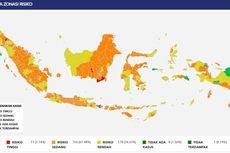Update 11 Daerah Zona Merah dan 8 Daerah yang Tak Memiliki Kasus Covid-19 di Indonesia, Mana Saja?