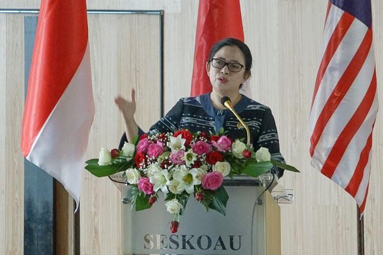 Ketua DPR RI Dr. (H. C) Puan Maharani.