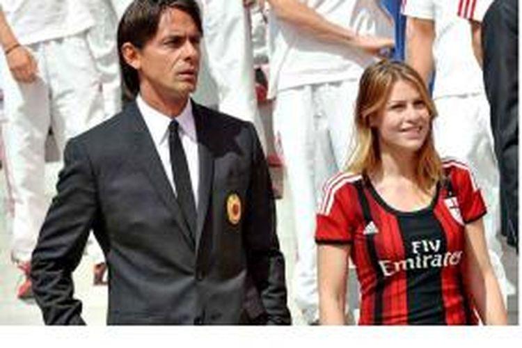Filippo Inzaghi dan Barbara Berlusconi