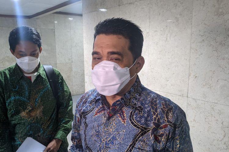 Wakil Gubernur DKI Jakarta Ahmad Riza Patria saat ditemui di Balaikota DKI Jakarta, Kamis (18/3/2021)