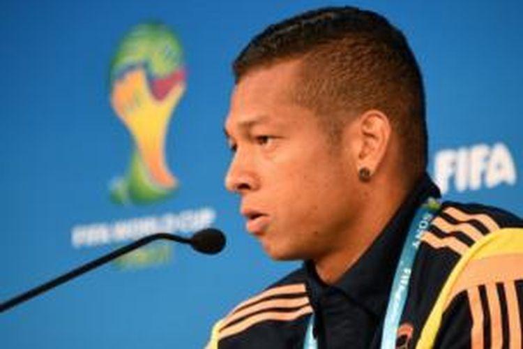 Gelandang tim nasional Kolombia, Fredy Guarin.