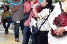 Kesal Tidak Dapat Tempat Duduk, Seorang Pria Pukul Wajah Penumpang Transjakarta