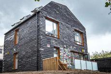 Wow... Rumah Ini Dibangun Pakai Bekas Limbah!