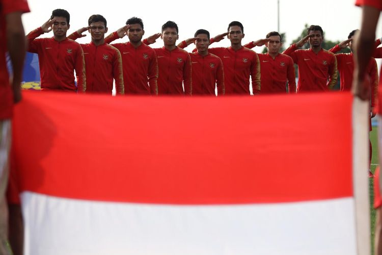 Pertandingan timnas U23 Indonesia vs Laos di SEA Games 2019 Grup B, Kamis (5/12/2019) di Stadion Imus, Filipina.