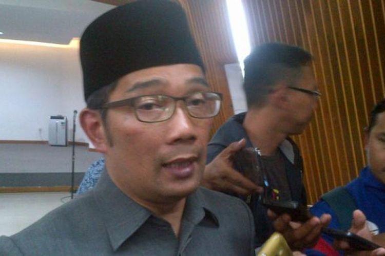 Wali Kota Bandung Ridwan Kamil saat ditemui usai melantik pejabat baru di Balai Kota Bandung, Jalan Wastukancana, Selasa (3/1/2017). KOMPAS.com/DENDI RAMDHANI