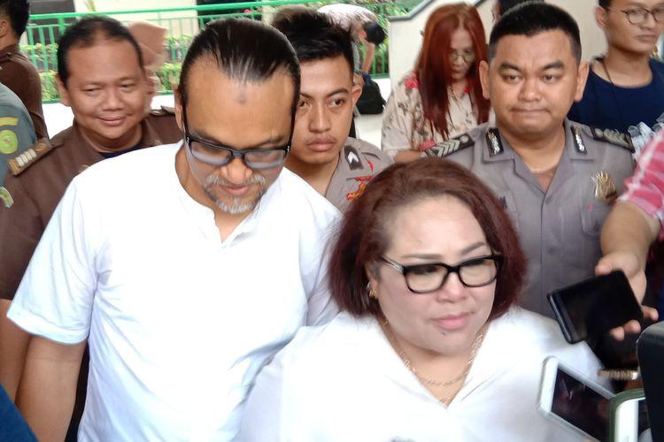 Nunung di Pengadilan Negeri (PN) Jakarta Selatan, Rabu (16/10/2019).