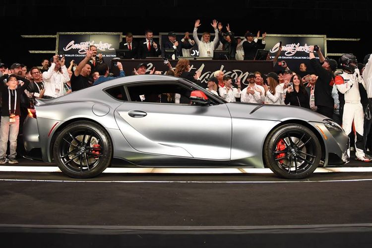 Toyota Supra 2020 VIN 1