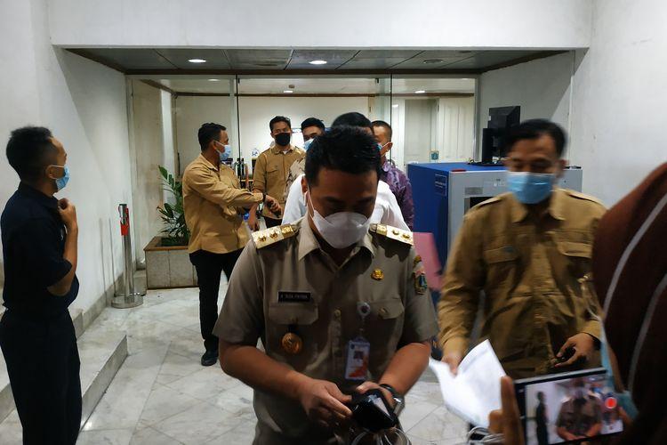 Wakil Gubernur DKI Jakarta ditemui di Balai Kota, Selasa (4/5/2021).