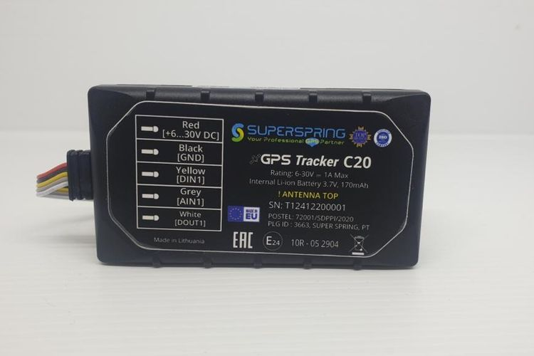 SUPERSPRING GPS Tracker C20