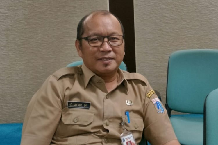 Wakil Kepala Dinas Lingkungan Hidup DKI Jakarta Djafar Muchlisin di Gedung DPRD DKI Jakarta, Jalan Kebon Sirih, Jakarta Pusat, Senin (14/1/2019).
