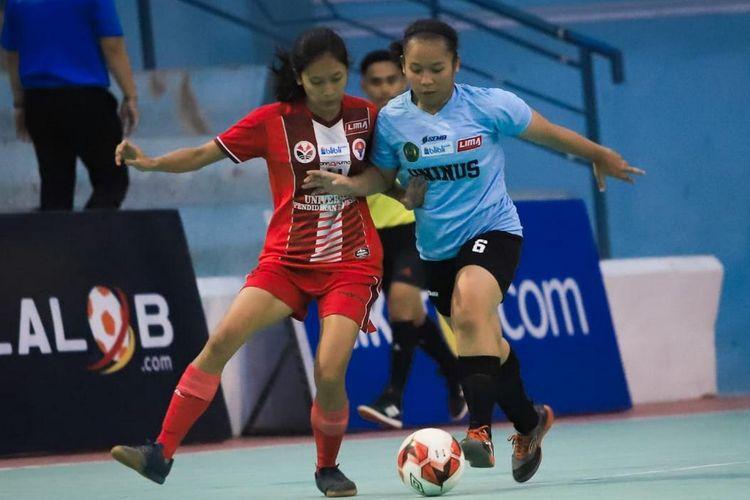 Tim Putri Uninus Bandung datang sebagai tim muka baru pada Liga Mahasiswa Futsal Blibli.com West Java Conference Season 7..
