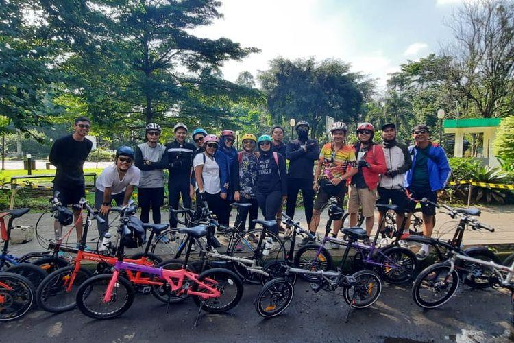 Komunitas Sepeda Tiba Tiba Suddenly Gowes
