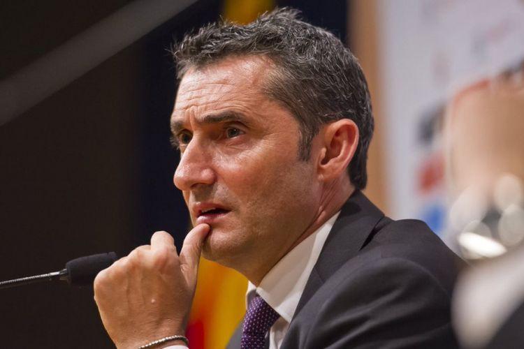 Barcelona mengumumkan Ernesto Valverde sebagai pelatih baru klub pada Senin (29/5/2017).