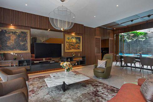 Desain Interior Rumah Eklektik, Simpel tapi Mewah