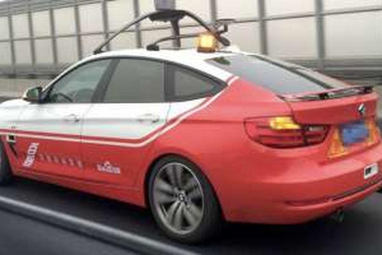 Mobil tanpa sopir buatan Baidu