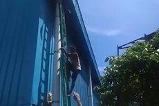 Maling Kabel Tak Bisa Turun dari Atap Gudang, Minta Tolong Polisi dan TNI Ambilkan Tangga, Ini Ceritanya