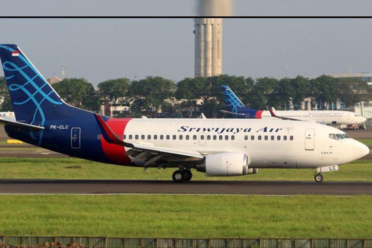 B737-500 Sriwijaya AIr PK-CLC.