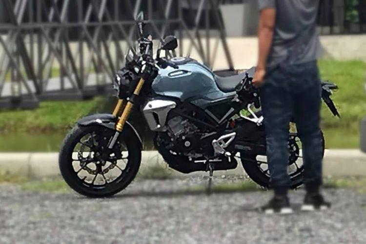 Honda 150SS Racer Concept yang katanya bakal diberi nama CB150F.