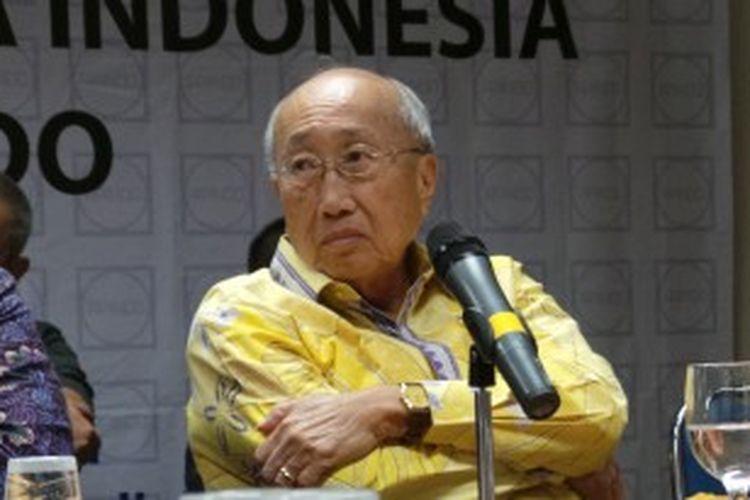 Ketua Umum Asosiasi Pengusaha Indonesia (Apindo) Sofjan Wanandi