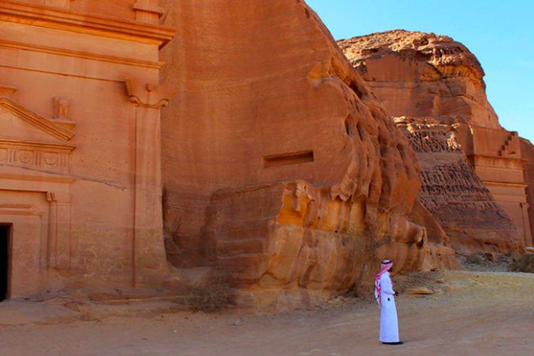 Madain Saleh dibangun abad ke 1 SM sampai abad 1 masehi.