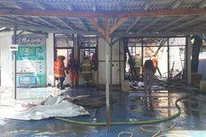 Gudang dan Ruang Tunggu di Kawasan Rutan Pondok Bambu Terbakar karena Korsleting Listrik