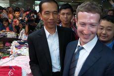 Jokowi Kenalkan Zuckerberg ke Pedagang Tanah Abang