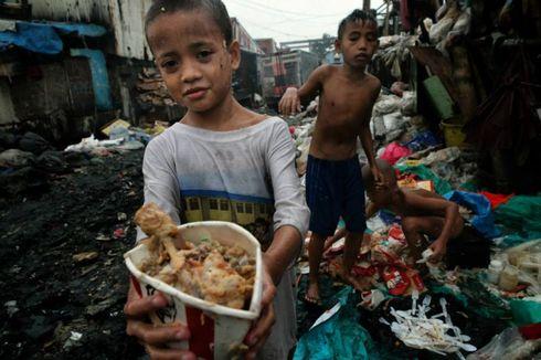 Orang Termiskin di Filipina Makan