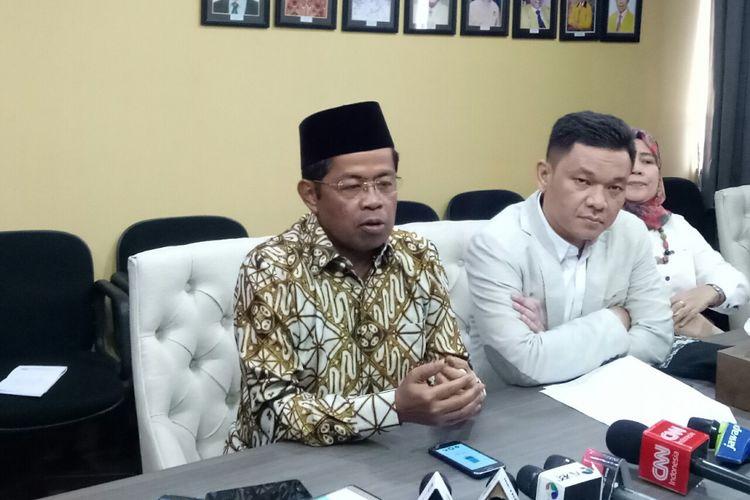 Sekjen Golkar Idrus Marham di Kantor DPP Golkar, Slipi, Jakarta Barat, Senin (6/11/2017)