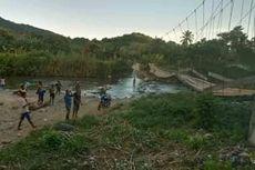 Jembatan Gantung Putus, 1.000 Warga di Sikka, NTT, Terisolir