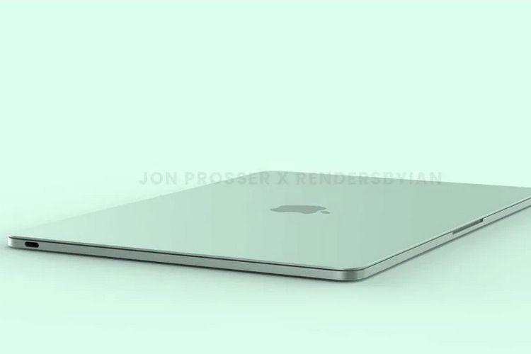 Apple kabarnya tengah menyiapkan Macbook Air generasi baru. Bocoran tampilannya pun beredar di dunia maya.