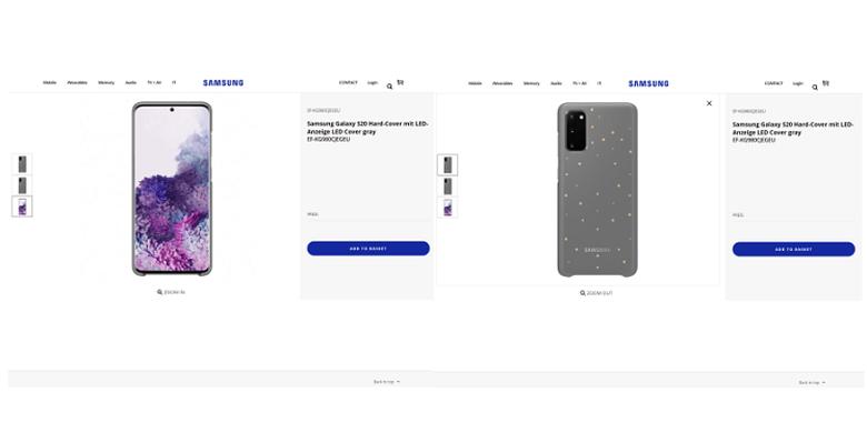 Bocoran tampilan Galaxy S20