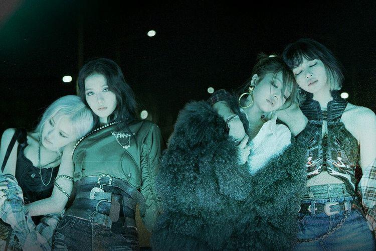 Foto teaser grup BLACKPINK untuk comeback lagu Lovesick Girls di full album bertajuk The Album