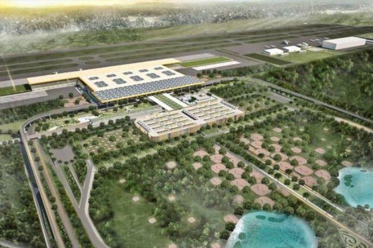 Desain Bandara New Yogyakarta International Airport di Kabupaten Kulon Progo, Yogyakarta.